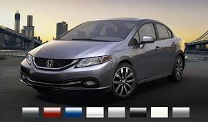 2015 Honda Odyssey Color Chart 2015 Honda Civic Sedan Exterior Colors Fisher Honda