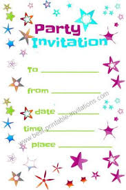 print free birthday invitations free party invitations printable invitation templates
