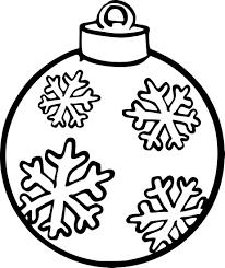 Coloriage Gratuit Flocon Excellent Mod Le Coloriage Boule Noel