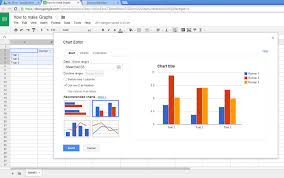 How To Make A Chart On Google Docs How To Make Graphs On Google Drive 8 Steps