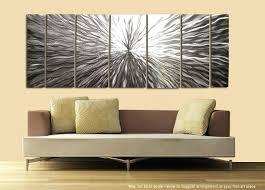 modern metal wall art uk abstract silver sculpture decor vortex by