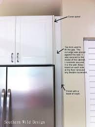 refrigerator cabinet kitchen