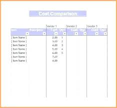 Competitive Analysis Matrix Template Free Competitive Analysis Template Pricing Competitor Excel