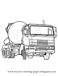 Small Picture Garbage Truck Coloring Page Truck Coloring Pages Of Big Rig
