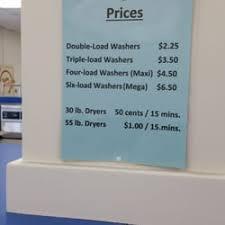 Laundromat prices