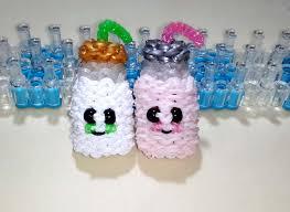 rainbow loom 3d milk bottle