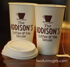 Creative Printed Coffee Cups Two Funny Girls