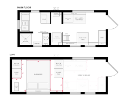 tiny house on wheels floor plans with no loft fresh tiny house trailer plans tiny home