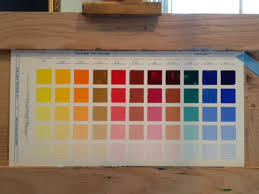 Richards Paint Color Chart Alice Hauser Art Journal Taking On Richard Schmids