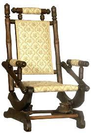 vintage platform rocking chair pair of rustic century chairs at antique pedestal rocker cushions antique rocking chair identification