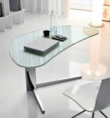 contemporary glass office furniture. Furniture:Modern Office Desk Designs With Professional Style Modern Glass Design Nice White Chair Contemporary Furniture C