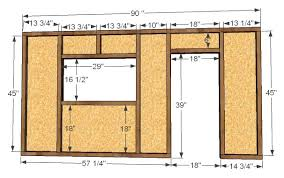 Ana White Build a Playhouse Front Wall Options and Door DIY