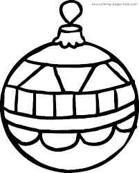 christmas ornament coloring pictures. Unique Christmas Christmas Coloring Pages Printable For Applique  Christmas Ornament  Page  Coloring Holiday  Intended Ornament Pictures E