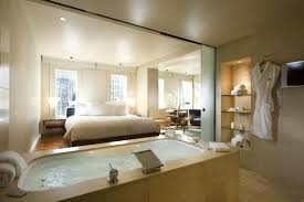 Master Bedroom With Bathroom Design