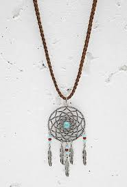 Dream Catcher Necklace Forever 21 Gorgeous Dreamcatcher Pendant Necklace Forever 32 32 Trinkets