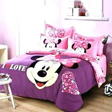 Minnie Mouse Full Size Bedding Bedding Queen Size Mouse Bedroom Set ...