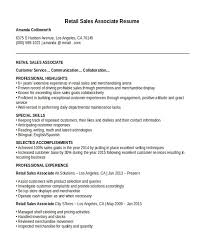 Sales Associate Resume Magnificent Resume Template Sales Associate The Hakkinen