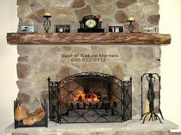 Mantel On Stone Fireplace Fireplace Mantel Decor With Stone How To Decorate A Rustic Idolza