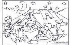 Kleurplaat Camping Beste Van Ijsjes Kleurplaten Vakantie T