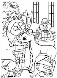 Small Picture Rudolph Coloring Pages Coloring Pinterest Coloring books