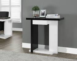 hall console table with drawers. amazon.com: glossy white/black hall console accent sofa table with drawer: kitchen \u0026 dining drawers t