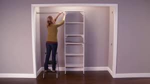closetmaid suitesymphony master closet shelving installation on vimeo