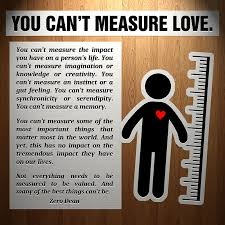 You Can't Measure Love Mesmerizing Love U Cant Have