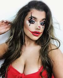 cute clown makeup idea for 2018