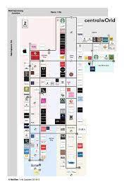 แจกแผนผังห้าง CentralWorld 7 ชั้น!... - MallBee ชีวิตติดห้าง