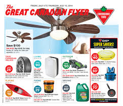 canadian tire weekly flyer weekly flyer jul 4 10 redflagdeals com