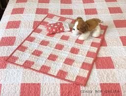 Best 25+ Doll quilt ideas on Pinterest | DIY doll quilt, Mini ... & Gingham doll quilt, which is a mini version a king size quilt. Adamdwight.com