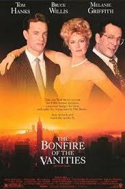 Bonfire of the vanities movie poster