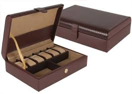 genuine leather mens jewelry box brown brown 3 25 h x 11 5 w genuine leather mens jewelry box brown brown 3 25 h x 11 5 w x 8 25 d in the uae see prices reviews and buy in dubai abu dhabi sharjah