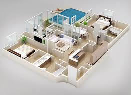 floor plan 3d. Floor Plan - 3D 4 Floor Plan 3d