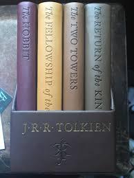 i got this fancy lotr book set
