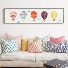 hot air balloon nursery decor