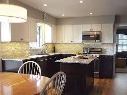 arlington heights illinois kitchen renovation features cliqstudios dayton painted white cabinets