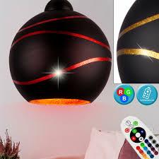 Luxus Hänge Dimmbar Gold Lampe Kugel Glas Zimmer Ess Leuchte