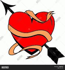 Beautiful Heart Design Red Heart Valentine Image Photo Free Trial Bigstock