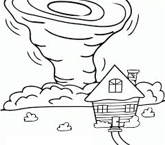 tornado coloring pages.  Pages Click The A House And Tornado  Coloring Pages