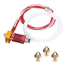 <b>3D Printer</b> MK8 Hotend Kit Extruder Assembled 0.4mm Nozzle Set ...