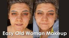 easy old woman makeup you just need a brow marker and eye shadow