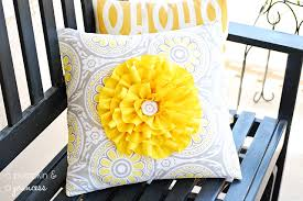 Covering A Pillow With Fabric