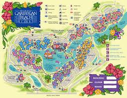 disney resorts  caribbean beach resort map  wdw  disney