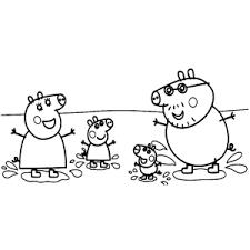 Peppa Big Kleurplaten Leuk Voor Kids