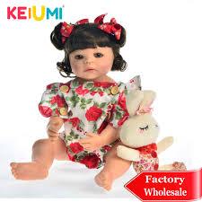 Lifelike 22'' <b>Baby</b> Girl Reborn Doll Vinyl Toy Realistic Princess <b>Full</b> ...
