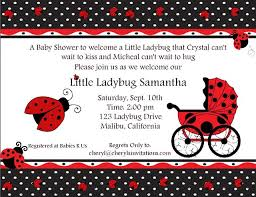 Ladybug Baby Shower Invitations Ideas  Free Invitations IdeasFree Printable Ladybug Baby Shower Invitations