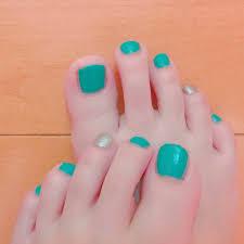春夏海フットシンプル Yunchanのネイルデザインno3288083