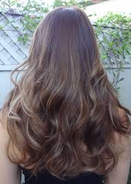 Brunette Hair With Super Thin And