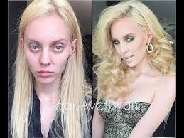 before and after makeup make miracles supermodels without makeup